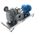 Suction and liquid/sludge pumping units
